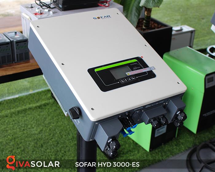 Hybrid inverter năng lượng mặt trời HYD 3000-ES 2