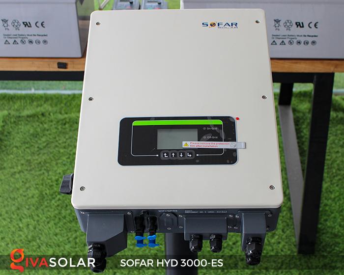 Hybrid inverter năng lượng mặt trời HYD 3000-ES 3