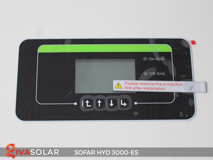 Hybrid inverter năng lượng mặt trời HYD 3000-ES 4