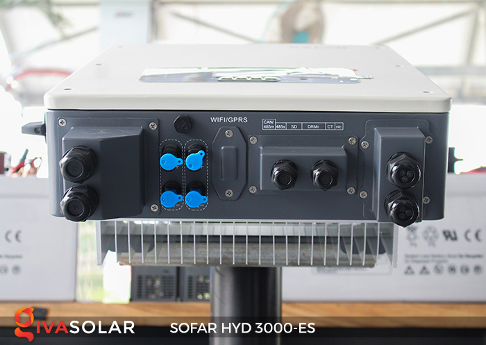 Hybrid inverter năng lượng mặt trời HYD 3000-ES 6