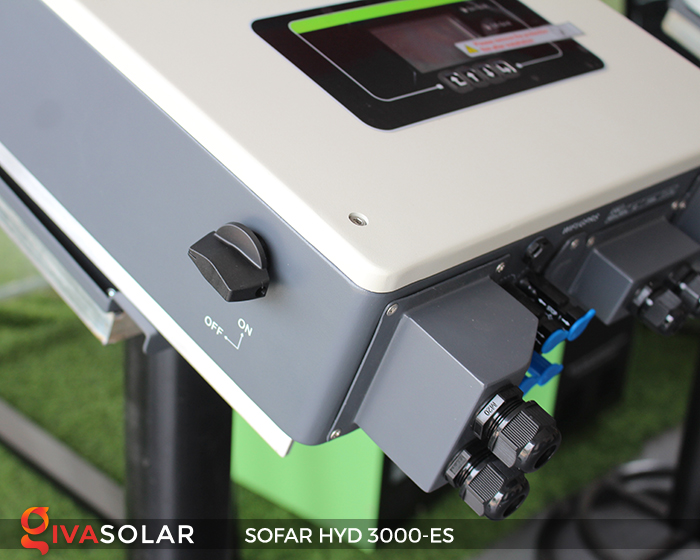 Hybrid inverter năng lượng mặt trời HYD 3000-ES 8