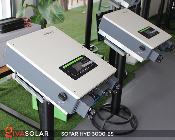 Hybrid inverter năng lượng mặt trời HYD 3000-ES 9