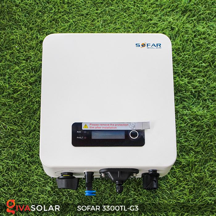 Biến tần điện mặt trời hòa lưới SOFAR 3300TL-G3 1