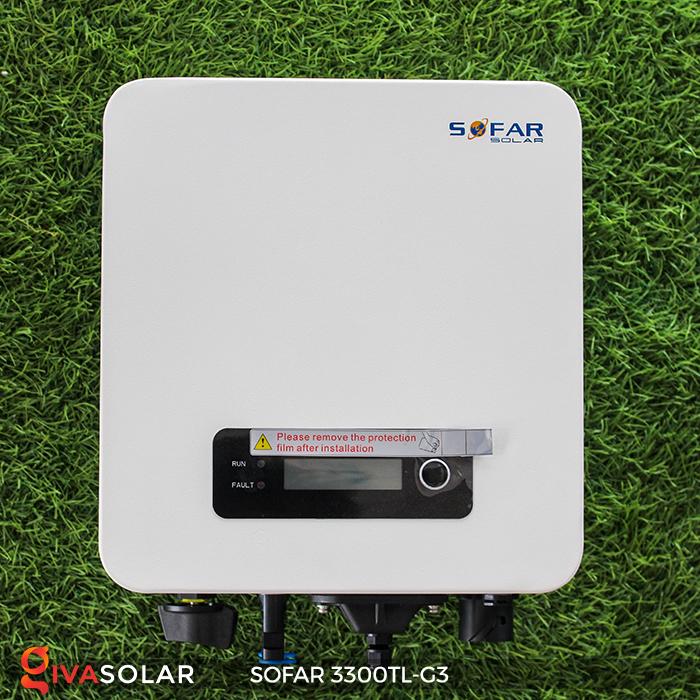 Biến tần điện mặt trời hòa lưới SOFAR 3300TL-G3 2