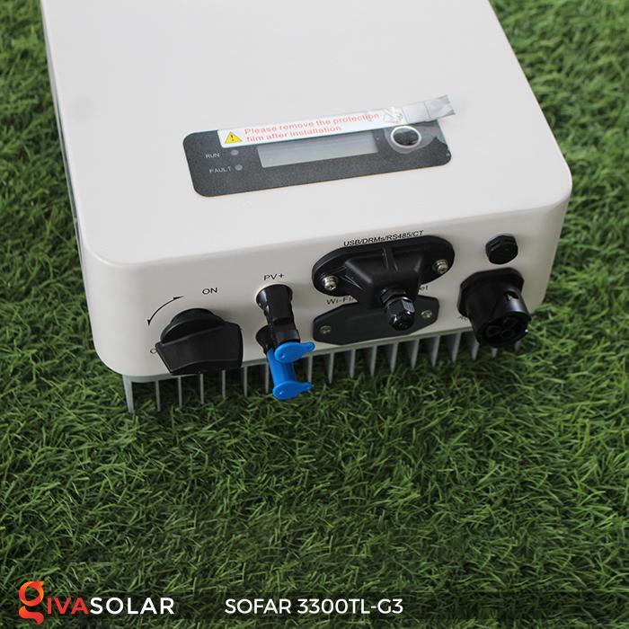 Biến tần điện mặt trời hòa lưới SOFAR 3300TL-G3 3