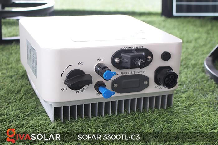 Biến tần điện mặt trời hòa lưới SOFAR 3300TL-G3 4