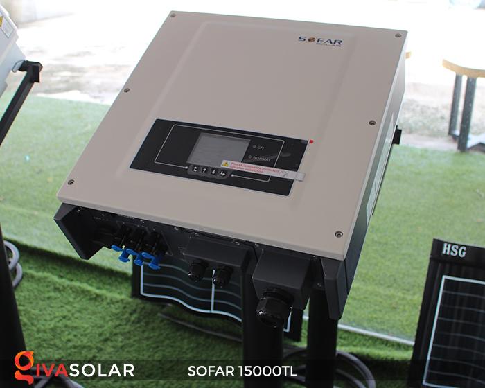 Biến tần hòa lưới năng lượng mặt trời 15000TL 2