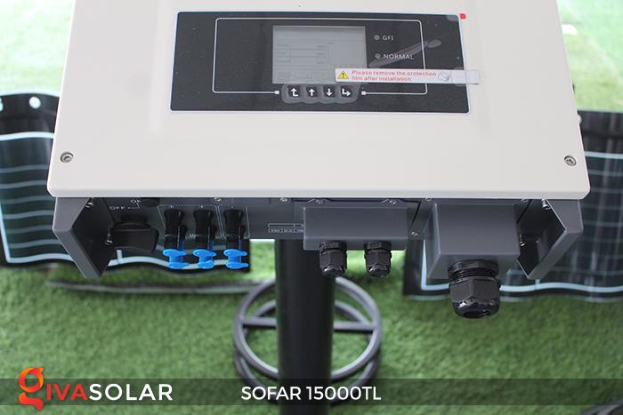 Biến tần hòa lưới năng lượng mặt trời 15000TL 3