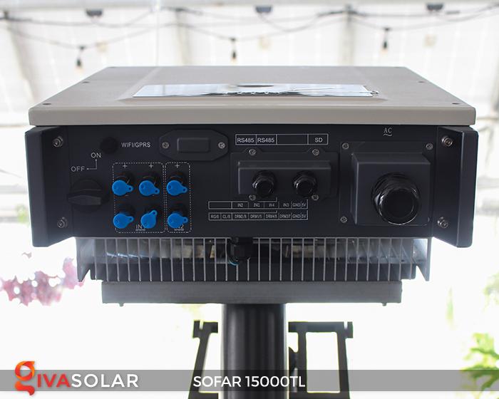 Biến tần hòa lưới năng lượng mặt trời 15000TL 6