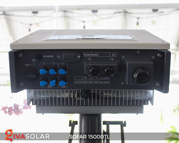 Biến tần hòa lưới năng lượng mặt trời 15000TL 7
