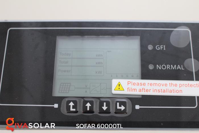 Biến tần năng lượng mặt trời hòa lưới 3 pha Sofar 60000TL 11