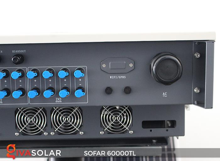 Biến tần năng lượng mặt trời hòa lưới 3 pha Sofar 60000TL 8