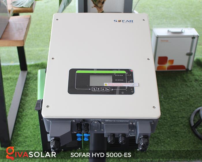 Bộ kích điện năng lượng mặt trời (inverter) hòa lưới có lưu trữ SOFAR HYD 5000-ES 1