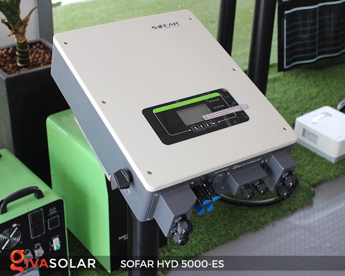Bộ kích điện năng lượng mặt trời (inverter) hòa lưới có lưu trữ SOFAR HYD 5000-ES 2