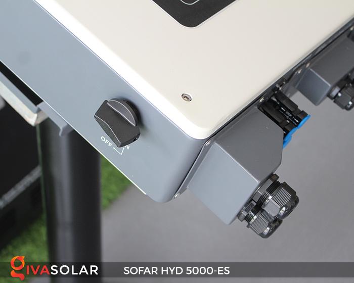 Bộ kích điện năng lượng mặt trời (inverter) hòa lưới có lưu trữ SOFAR HYD 5000-ES 3