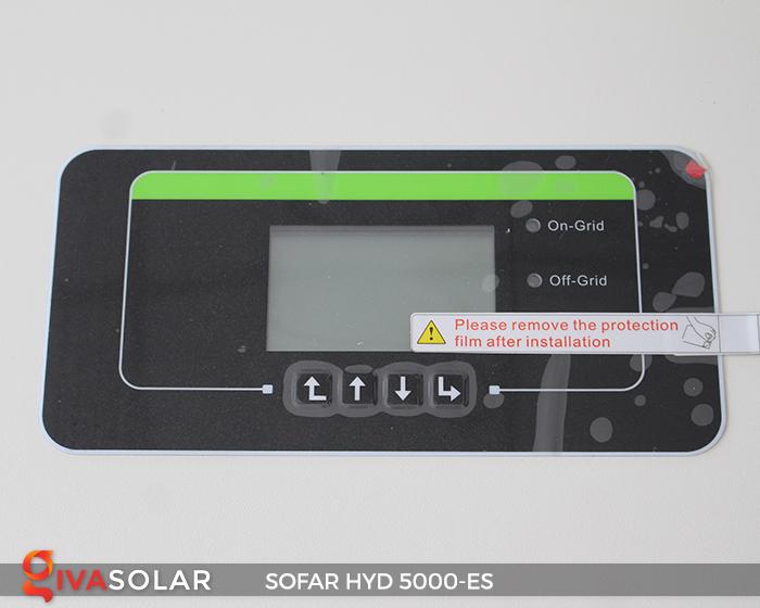 Bộ kích điện năng lượng mặt trời (inverter) hòa lưới có lưu trữ SOFAR HYD 5000-ES 4