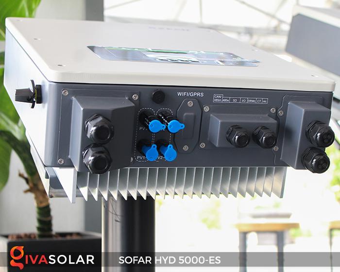 Bộ kích điện năng lượng mặt trời (inverter) hòa lưới có lưu trữ SOFAR HYD 5000-ES 5