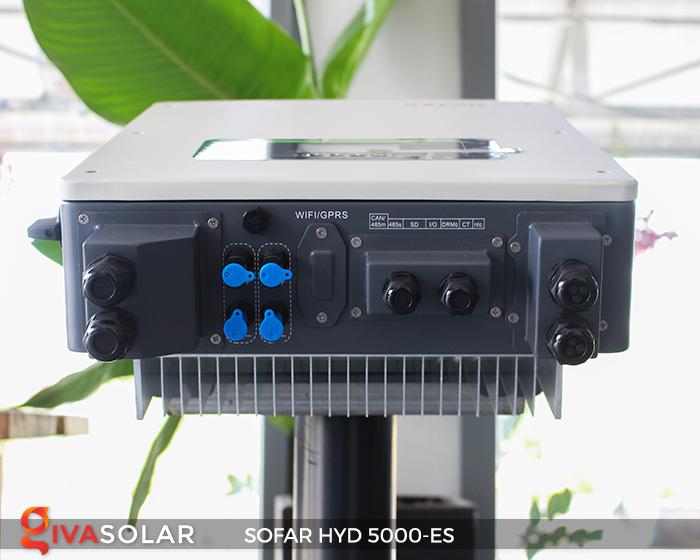 Bộ kích điện năng lượng mặt trời (inverter) hòa lưới có lưu trữ SOFAR HYD 5000-ES 6