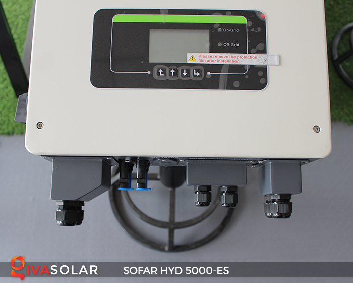 Bộ kích điện năng lượng mặt trời (inverter) hòa lưới có lưu trữ SOFAR HYD 5000-ES 7