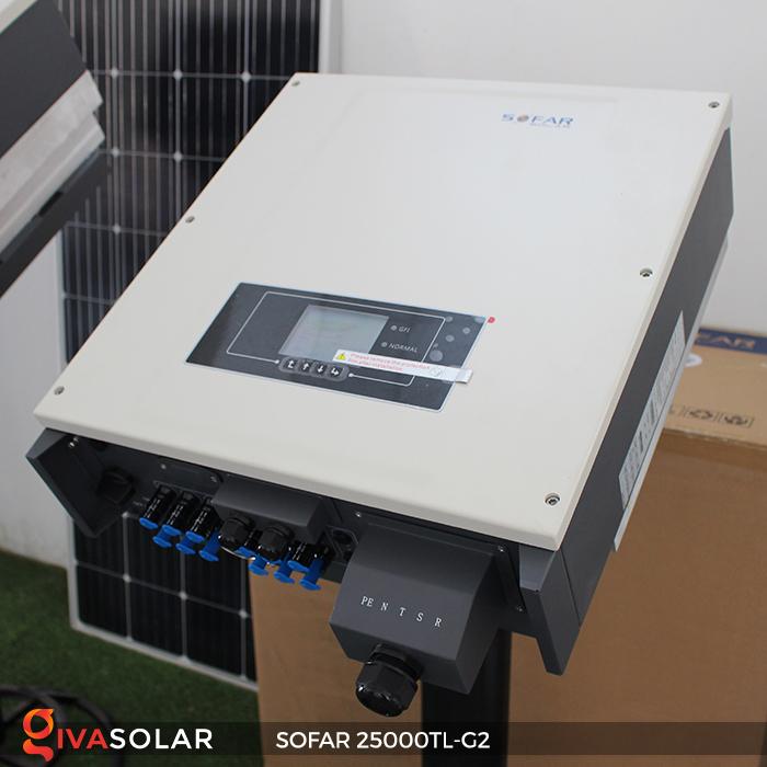 Biến tần hòa lưới điện mặt trời hãng SOFAR 25000TL-G2 3