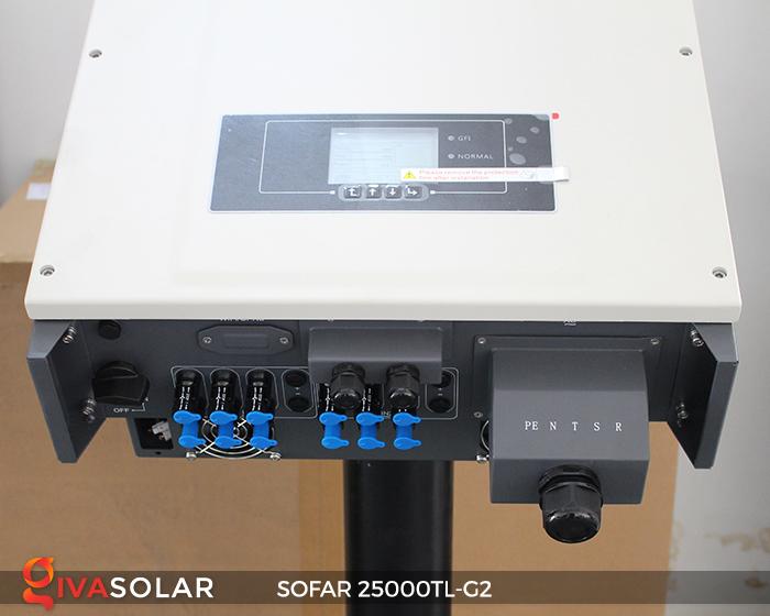 Biến tần hòa lưới điện mặt trời hãng SOFAR 25000TL-G2 4