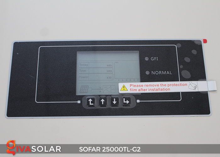 Biến tần hòa lưới điện mặt trời hãng SOFAR 25000TL-G2 5