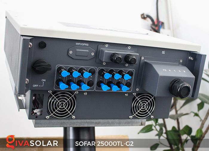 Biến tần hòa lưới điện mặt trời hãng SOFAR 25000TL-G2 7
