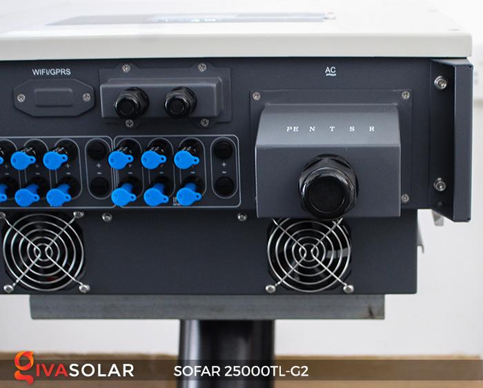 Biến tần hòa lưới điện mặt trời hãng SOFAR 25000TL-G2 8