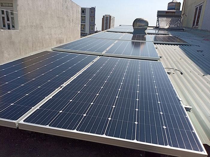 Dự án lắp điện mặt trời 5kW cho gia đình tại quận 9 TPHCM 1