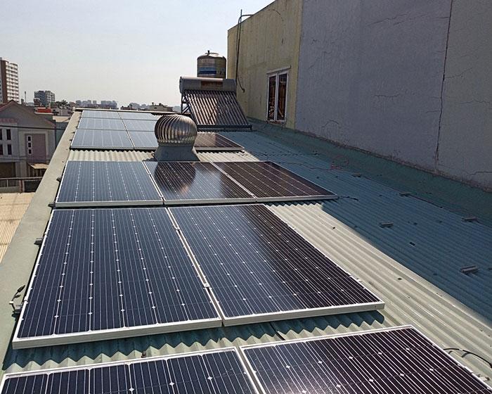 Dự án lắp điện mặt trời 5kW cho gia đình tại quận 9 TPHCM 3