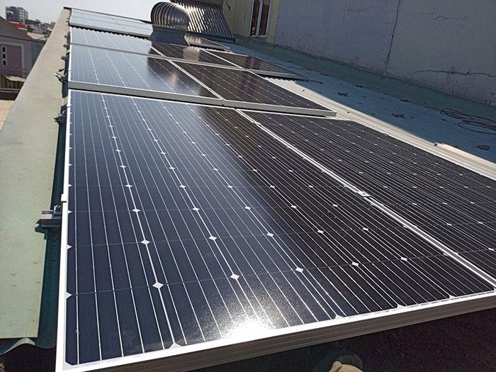 Dự án lắp điện mặt trời 5kW cho gia đình tại quận 9 TPHCM 4