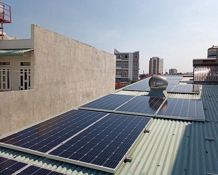 Dự án lắp điện mặt trời 5kW cho gia đình tại quận 9 TPHCM 5