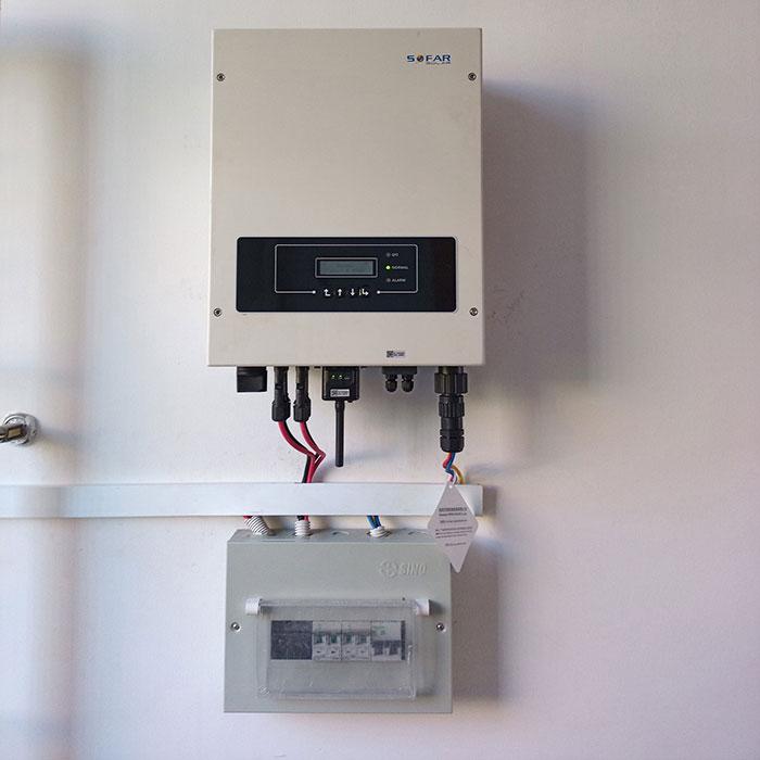 Dự án lắp điện mặt trời 5kW cho gia đình tại quận 9 TPHCM 6