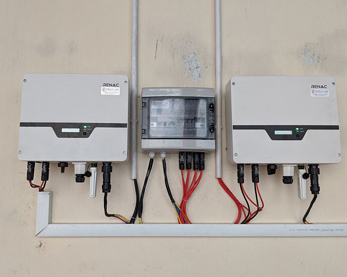 Lắp điện mặt trời áp mái 10kW cho anh Mạnh tại Củ Chi 7