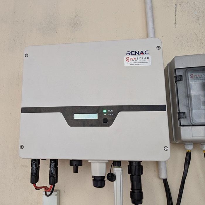 Lắp điện mặt trời áp mái 10kW cho anh Mạnh tại Củ Chi 8