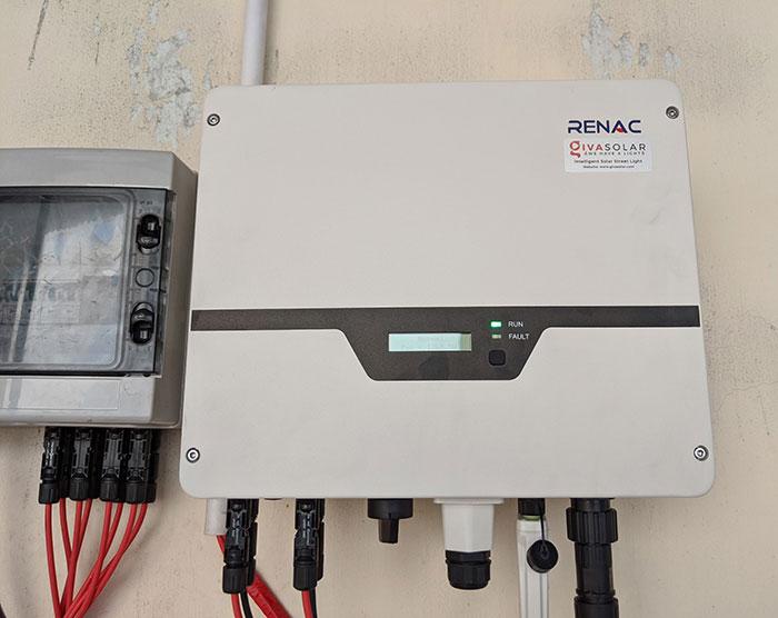 Lắp điện mặt trời áp mái 10kW cho anh Mạnh tại Củ Chi 9