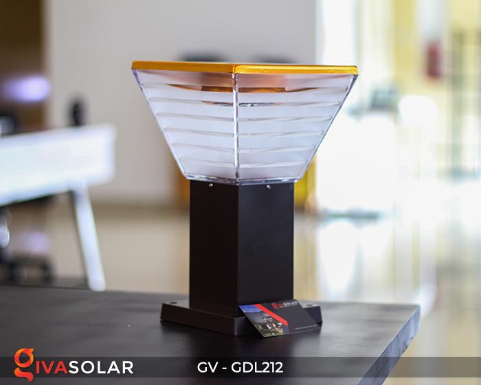 Đèn sân vườn dùng năng lượng mặt trời GDL212 1