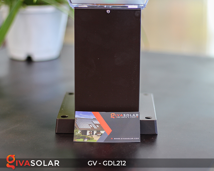 Đèn sân vườn dùng năng lượng mặt trời GDL212 11
