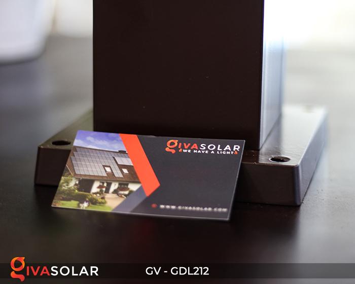 Đèn sân vườn dùng năng lượng mặt trời GDL212 12