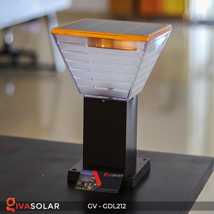 Đèn sân vườn dùng năng lượng mặt trời GDL212 3