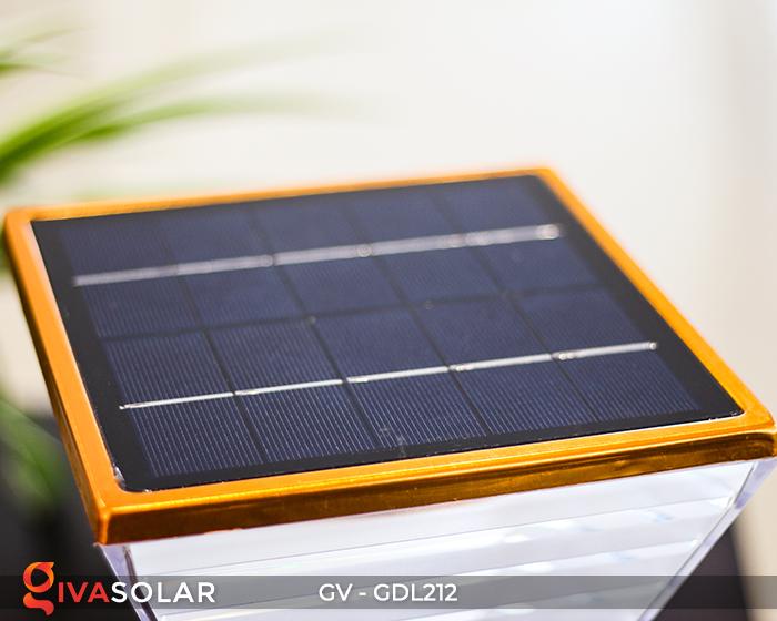 Đèn sân vườn dùng năng lượng mặt trời GDL212 5