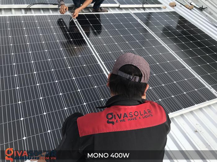 Tấm pin năng lượng mặt trời MONO 400W 15