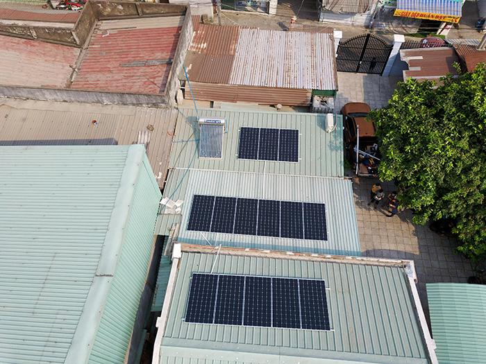 Điện mặt trời áp mái hòa lưới 5kWp tại Bình Dương 2