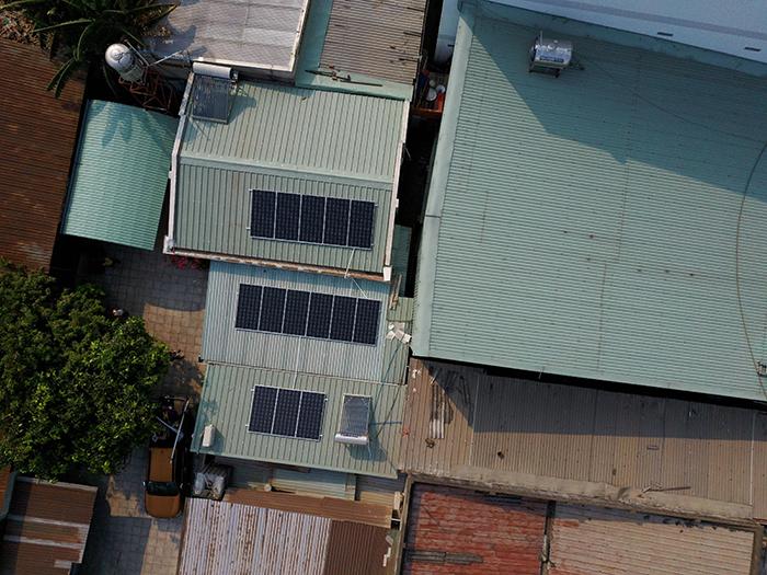 Điện mặt trời áp mái hòa lưới 5kWp tại Bình Dương 3