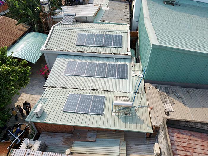 Điện mặt trời áp mái hòa lưới 5kWp tại Bình Dương 4