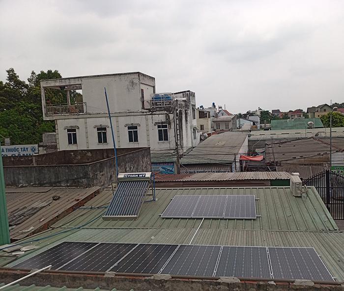Điện mặt trời áp mái hòa lưới 5kWp tại Bình Dương 5