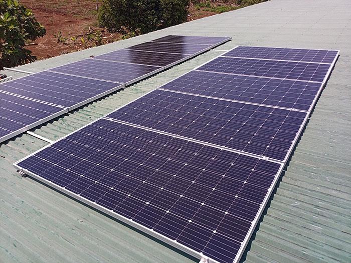 [Điện mặt trời Đồng Nai] Hoàn thành hệ thống hòa lưới 4kW cho nhà trọ 3