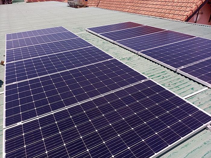 [Điện mặt trời Đồng Nai] Hoàn thành hệ thống hòa lưới 4kW cho nhà trọ 4