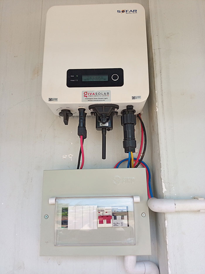 [Điện mặt trời Đồng Nai] Hoàn thành hệ thống hòa lưới 4kW cho nhà trọ 5