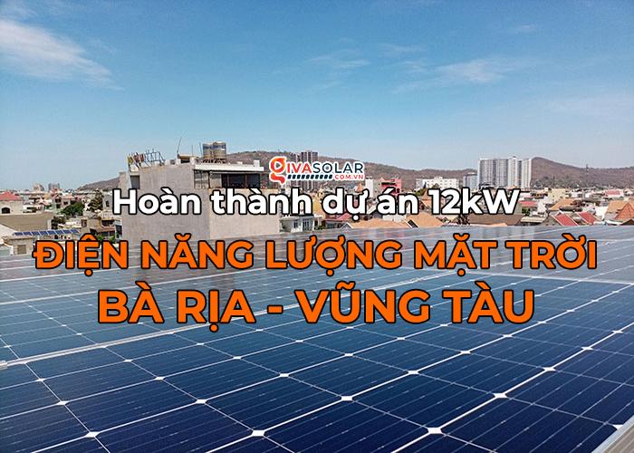 [Năng lượng mặt trời Vũng Tàu] Lắp đặt hệ thống hòa lưới 12kW kinh doanh khách sạn 0